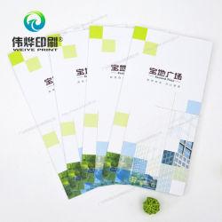 La impresión de folleto de publicidad personalizada