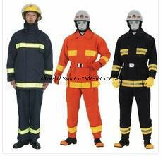 Ropa de trabajo resistente al fuego retardante de la lucha contra incendios de buena calidad ropa ignífuga Ropa de trabajo reflectante