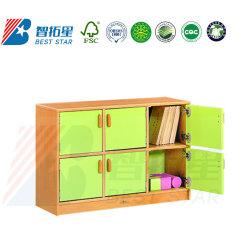 Infantário,pré-escolar e escolar Kids Cabinet,Mobiliário Play Brinquedo Armário de madeira,quarto estante de livros e Rack,Creche Roupeiro Armário com porta de mobiliário