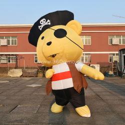 La publicité personnalisée Modèle Marche gonflable Costume de l'ours pour adulte