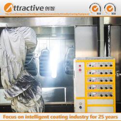 China-Fabrik-Preis-kundenspezifisch angefertigtes Kraftstofftank-Industrie-Sprühsystems-Beschichtung-Fließband für die Produktion der Motorräder und der Autos