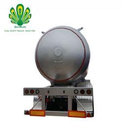 3-as 58.8cbm van Shengrun de Aanhangwagen van de Tank van het Vervoer van het Gas van LPG