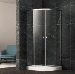 Receptáculo de ducha de sector de la habitación con bastidor de aleación de aluminio pomo ABS