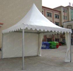 Weiße im Freienhochzeits-grosses Pagode-Zelt mit Vorhängen u. Futtern