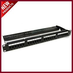 UTP CAT5E 24 ports du panneau de raccordement du réseau