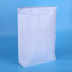Válvula de fundo quadrado de papel kraft para sacos de cimento em pó Putty