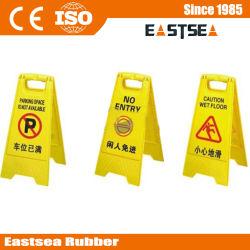 Пластиковые форма для печати трафика Предупреждение Этаж Вход