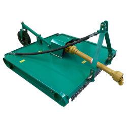Attelage 3 points de terminer l'herbe rotatif à fléaux de la décolleteuse tondeuse à gazon pour tracteur