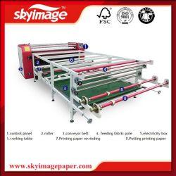 Rullo per rotolare il calendario rotativo 1.9m 420mm della tessile per il nylon del poliestere/Lycra//la stampa non tessuta del tessuto