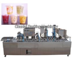 Copa de frutas de máquina de llenado y sellado