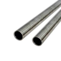 Tubazione rotonda Polished dell'acciaio inossidabile con lo standard di BACCANO per materiale da costruzione