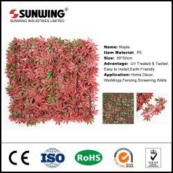 Resistente a UV grossista Painel Buxo artificiais para ornamento de Jardim