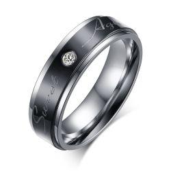 Anniversaire spécial doux mois de l'anneau de bijoux personnalisés