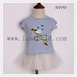 Nouveau bébé Enfants Filles Tshirt Vêtements pour enfants Les enfants Tops Vêtements d'été à manches courtes Tee Shirts chemisier