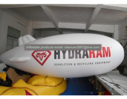 Piccolo dirigibile gonfiabile dell'elio dell'aerostato del cielo dell'aria di promozione con la pubblicità di marchio