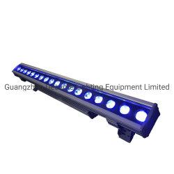Meilleur éclairage Rgbwauv 18pcs 18W Mur de l'étape de lavage de pixel Bar pour les ponts à LED