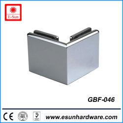 Badezimmer-Edelstahl-Klipp-Doppelt-Seiten-Glasschelle (GBF-046)