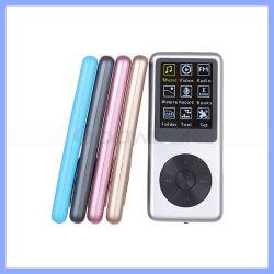 Distribuição de 8 GB MP3 Hi-Fi com leitor de MP4 com gravador de voz digital e-book Reader com visor de 1,8 polegadas