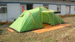 Большие пространства семьи палатка с двумя отдельными Rooms-Camping палатка
