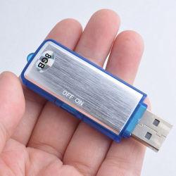 온/오프 스위치를 가진 회의 프리젠테이션을%s USB 디지털 음성 기록병 8GB USB 섬광 드라이브