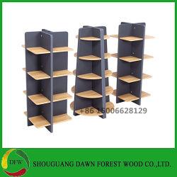 Feux d'exposition de bois Stand/Showcase/Affichage/étagère de rack pour les cosmétiques/supermarché/pharmacie