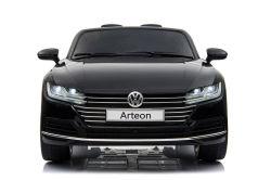 Automobili elettriche dei bambini di Volkswagen Arteon con l'autorizzazione nel nero