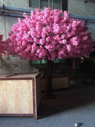 인공적인 플랜트 벚꽃 나무 인공적인 분지 및 잎