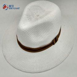 Мода дизайн дешевые Панама Red Hat соломы