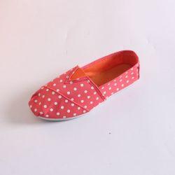 Soft classique Mesdames Slip-sur toile occasionnel des chaussures d'injection