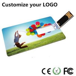 Slim disque Flash USB de carte de crédit