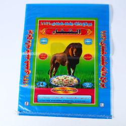 Feed Riso Carta Kraft Pp Laminato Tessuto Sacchetto Di Fertilizzante 50kg