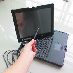 2017 seconden draagbare diagnostische computer Nec-laptop met touchscreen 2g Met batterij zonder HDD werk voor MB Star C3 C4 Gereedschap