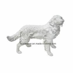 3D-яркий большой собакой полимера дома ремесел, пользовательские животных полимеров