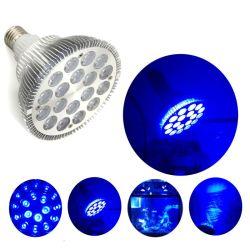 18 Королевский синий аквариум коралловых рифов и морских лампы освещения бункера с морской водой цвета индикаторов направленного света PAR38 лампы