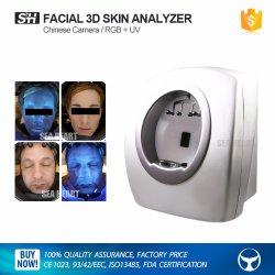 Portable 3D'analyse de la peau du visage de la caméra de la peau de l'analyseur de la machine