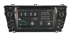 Auto Multimedia Car GPS Navigation System für Toyota Corolla DVD