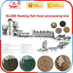 Complete Pet Pellet Feed peixe flutuantes máquina de processamento de alimentos