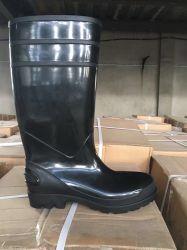 Chuva de PVC botas para mulheres, calcanhar de alta moda sapatos de chuva
