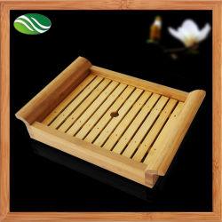 Bambustee-Nahrungsmittelumhüllung-Tellersegment-Sushi-Platte