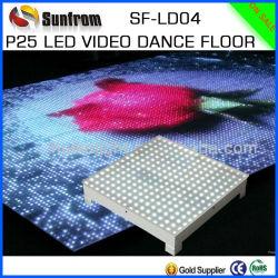 高い定義LED P25ビデオダンス・フロアの製造者
