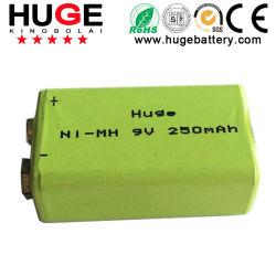 batteria ricaricabile di 9V 250mAh Ni-MH (9V)