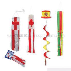 国家的記念日を広告する昇進は空気管の風チャイム凧に送風する