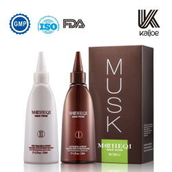 Mocheqi Professional OEM вьющихся волос Perming стретч прочного обесцвеченными лосьон для тела