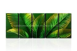 Cor das molas para folhas de arte na parede de metal
