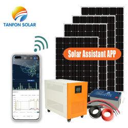 格子10kw APPの家のための太陽系のホーム10kVA太陽エネルギー10000Wの太陽電池パネルを離れて完了しなさい