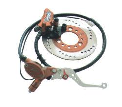 Pinça do Freio Hidráulico Dianteiro da Alavanca do Conjunto de Discos para 125cc 150cc sujeira Pit Bike