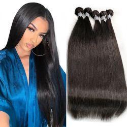 Groothandel Goedkope Remy Hair bundels Cuticle uitgelijnd onbewerkt 100% Pure Virgin Weave natuurlijke Braziliaanse menselijke haaruitbreidingen