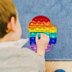 من بين فقاعة لعبة الحسي الأميركية fubble تحتاج البوب إلى سرب بالغ طفل مضحك البوب مكافحة الإجهاد fidget it الإجهاد Reliver Toys