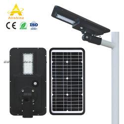 40W Capteur IRP longue durée de vie de tous les dans une rue lumière solaire