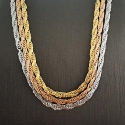 La moda de joyería personalizada Collar Cadena soga francés